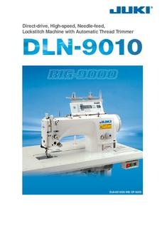 Direct-drive High-speed Needle-feed Lockstitch Machine