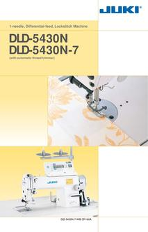 1-needle Differential-feed Lockstitch Machine