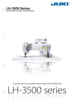 2-needle, Semi-dry-head, Lockstitch Machine