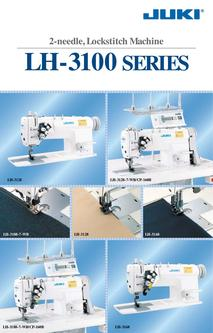 2-needle Needle-feed Lockstitch Machine