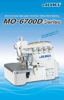 Semi-dry-head, High-speed, Overlock / Safety Stitch Machine