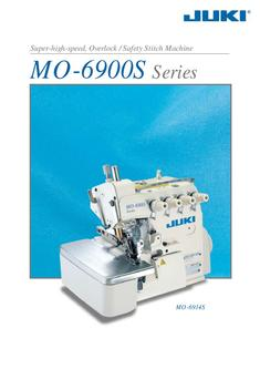 Super-high-speed, Overlock / Safety Stitch Machine