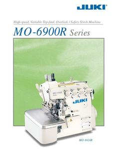 High-speed, Variable Top-feed, Overlock / Safety Stitch Machine
