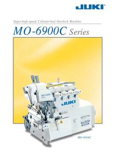 Super-high-speed, Cylinder-bed, Overlock Machine