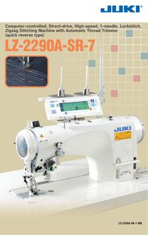 Zigzag Stitching Machine with Automatic Thread Trimmer (quick reverse type)