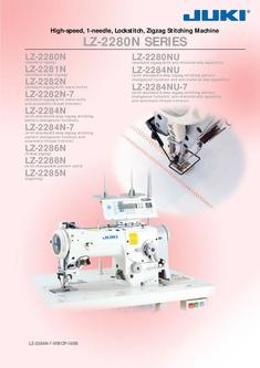 High-speed, 1-needle, Lockstitch, Zigzag Stitching Machine