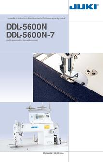 1-needle, Lockstitch Machine with Double-capacity Hook