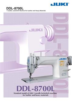 1-needle, Lockstitch Machine for Leather and Heavy Materials
