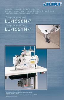 1-needle, Unison-feed, Lockstitch Machine with Vertical-axis Large Hook and Auto