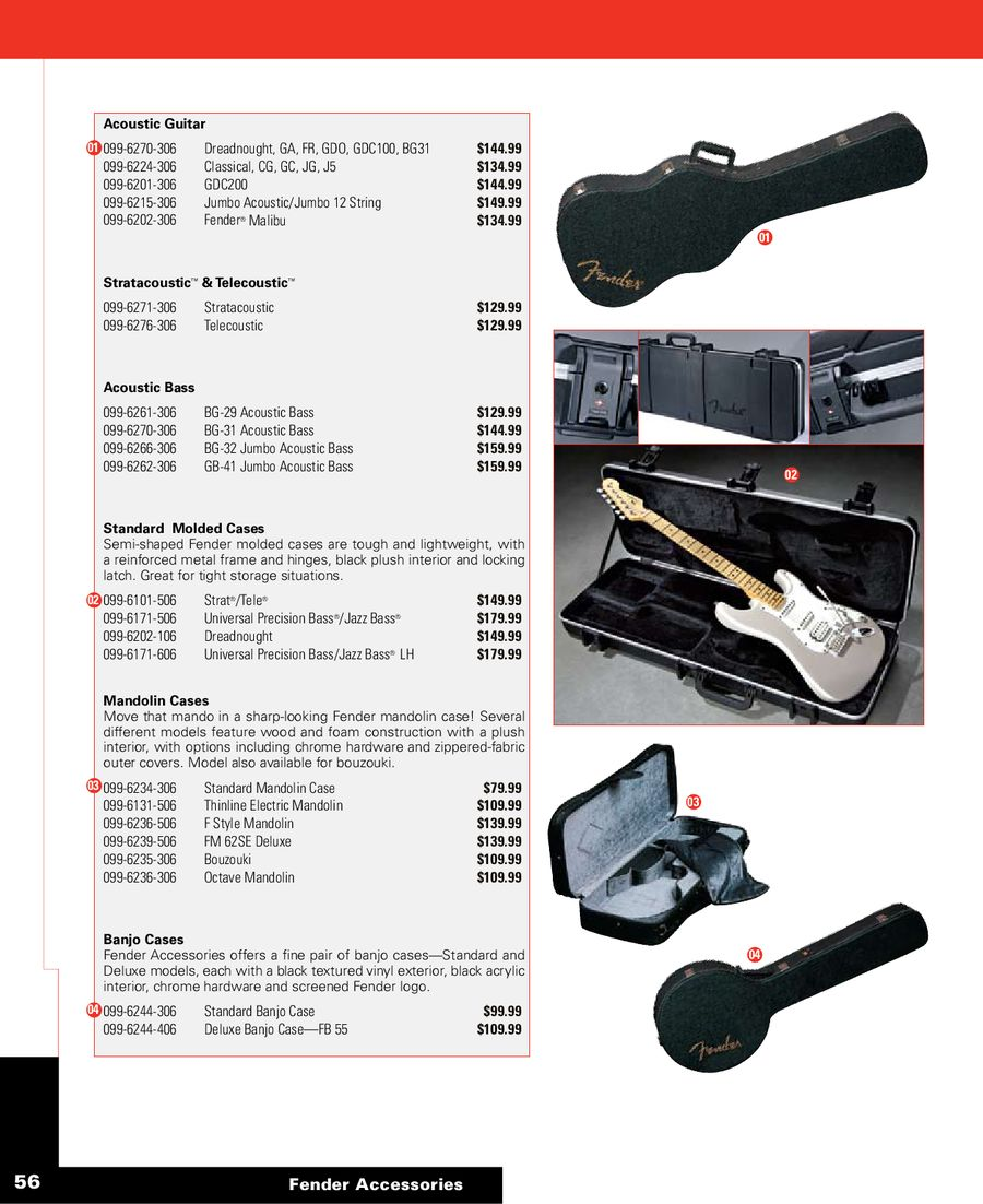 Page 58 of Accessories Product Guide 2008