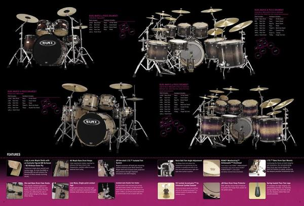 Page 4 Of 2005 Mapex Drums Catalog