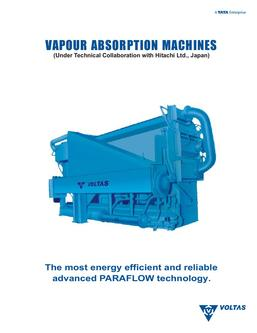 Vapour absorption machines (VAM)