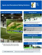 Sports and Recreational Netting