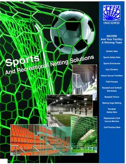 Catalogue: InCord Sports and Recreational Netting