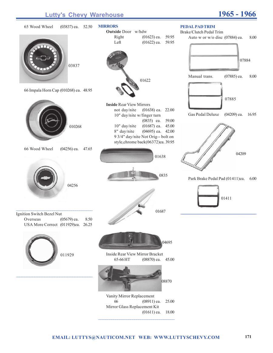Impala parts coupon