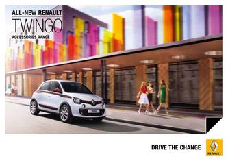 Renault Twingo Accessories 2015