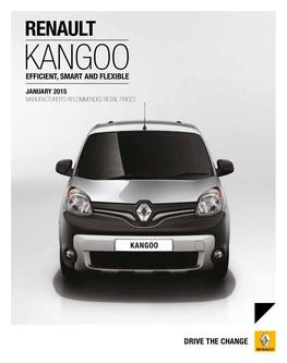 Renault Kangoo Range January 2015