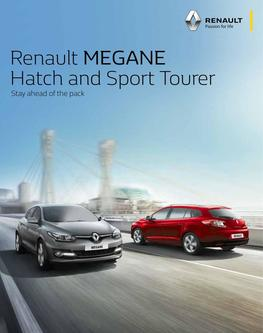 MEGANE Hatch & Sport Tourer 2016