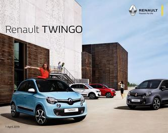Renault Twingo April 2019