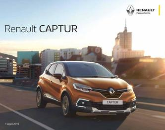 Renault CAPTUR April 2019