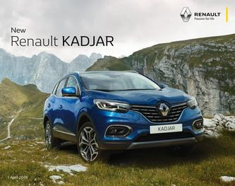 Renault KADJAR April 2019