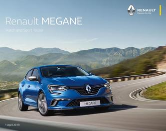 Renault MEGANE Hatch and Sport Tourer April 2019