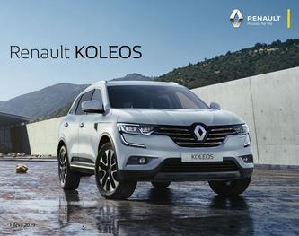 Renault KOLEOS April 2019
