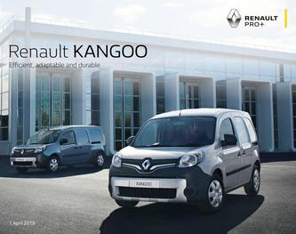 Renault KANGOO VAN April 2019