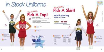 In Stock Uniforms
