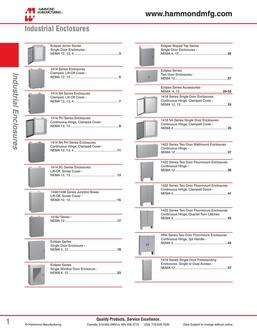 Industrial Enclosures 2015