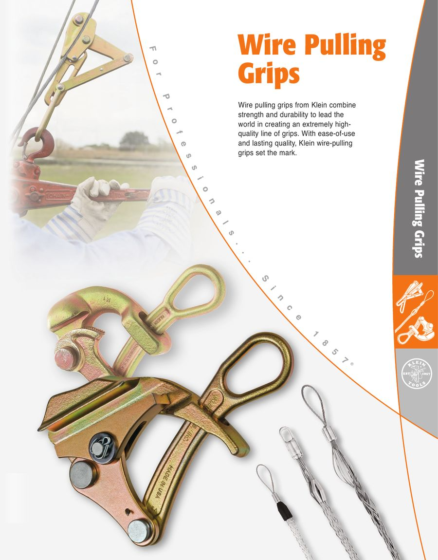 Wire Pulling Grips 154 by Klein Tools
