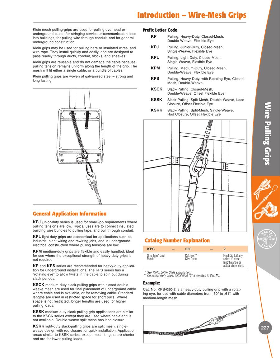 Page 20 of Wire Pulling Grips 154