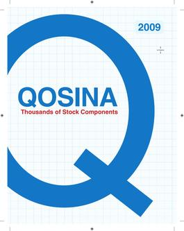 2009 Qosina product catalog (Part 1/2)