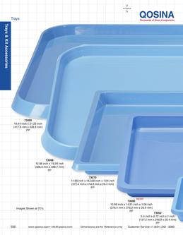 Trays and Kit Accessories 2013