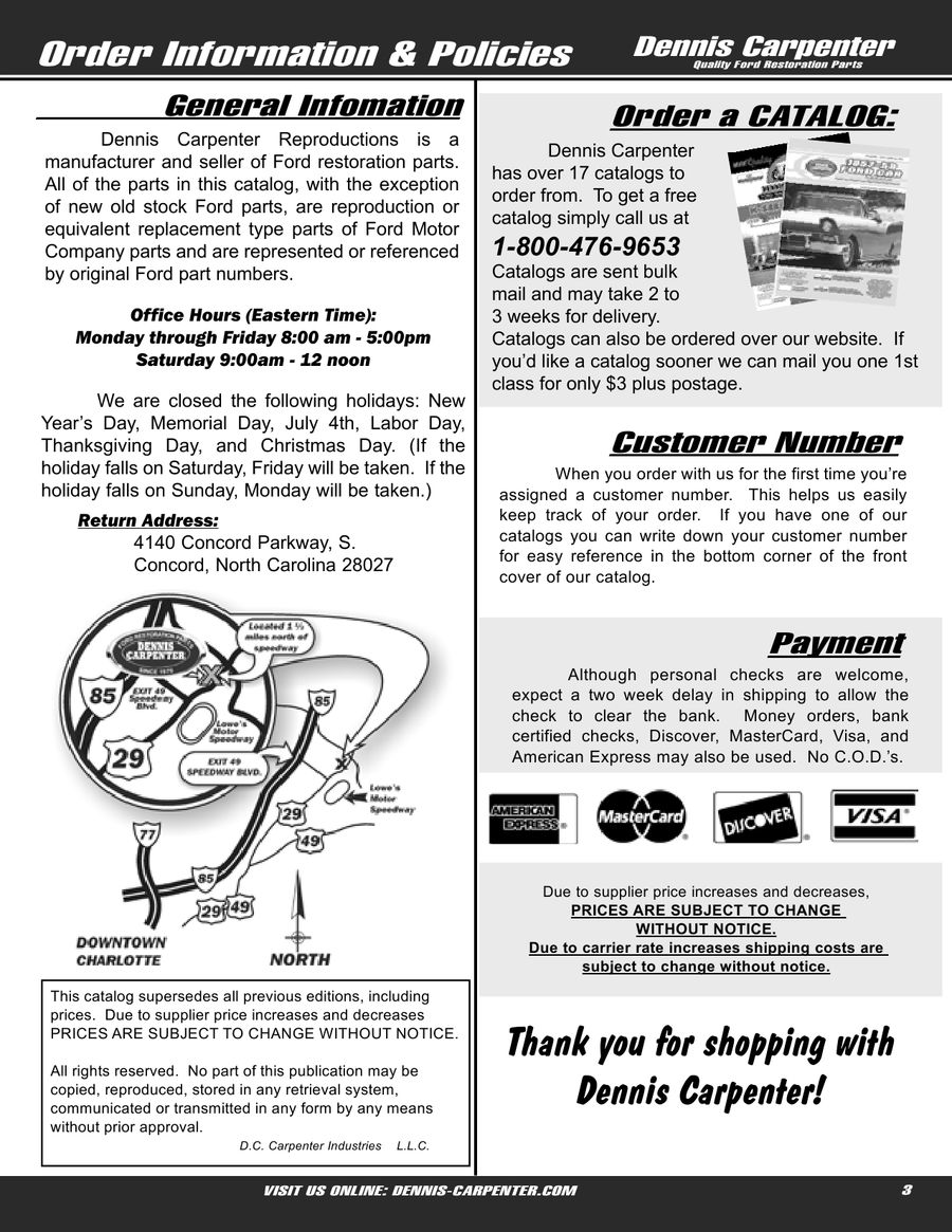 Ford Falcon Parts By Dennis Carpenter And Cushman Restorations Wiring Diagrams Of 1963 Comet 6 All Models Part 2