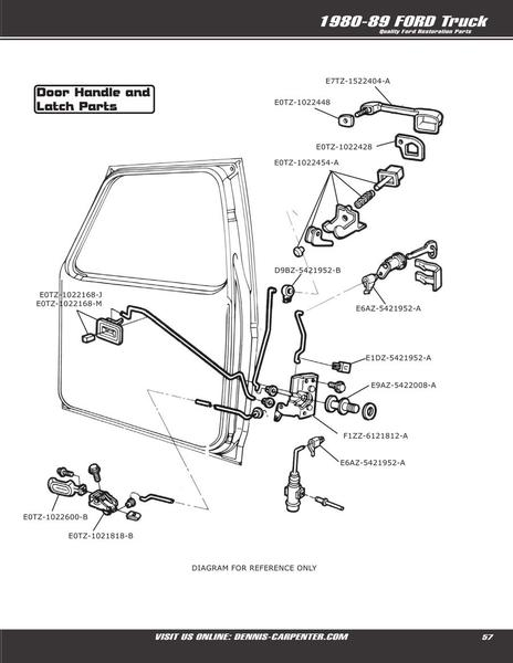 95 Ford Explorer Door Parts Diagramon 1988 Ford Mustang Wiring Diagrams