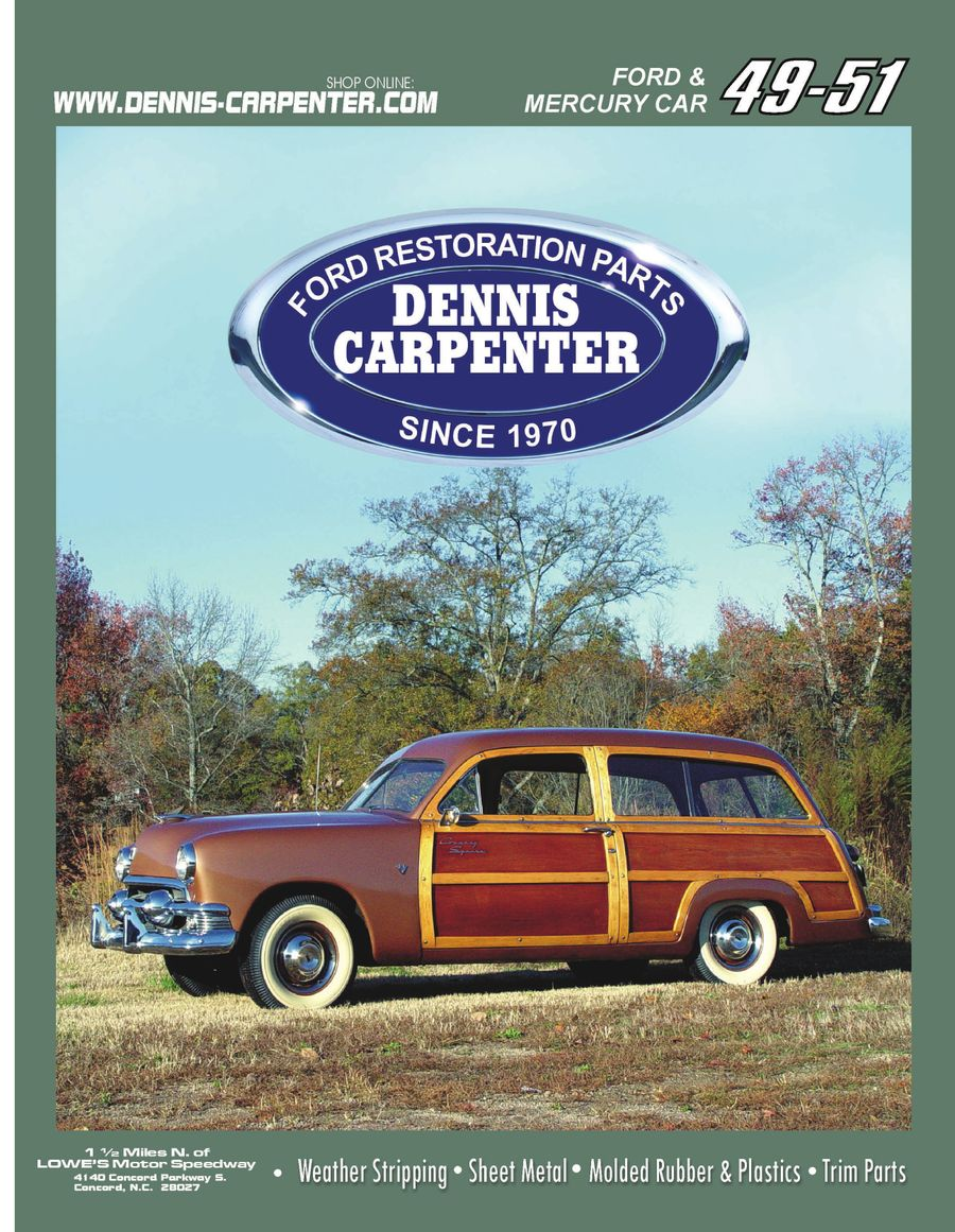 1949 1951 Ford Restoration Parts 2008 By Dennis Carpenter And 8n Wiring Diagram Repair Tips Cushman Restorations