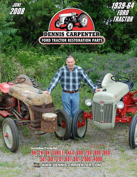 Garden Tractor Restoration Parts : Ford tractor restoration parts by dennis carpenter