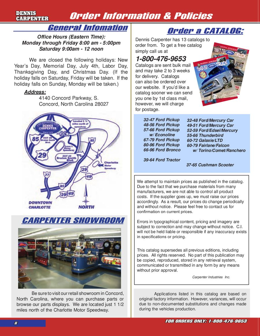 1957-66 Ford Trucks & Econoline Parts 2012 by Dennis