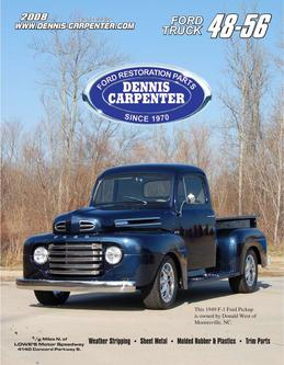Carpenter Ford and Cushman Restorations 1948-56 Ford Trucks Parts