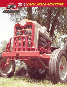 Ford Tractor Restoration Parts 2012