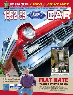 1952-59 Ford Car & Edsel Parts 2012