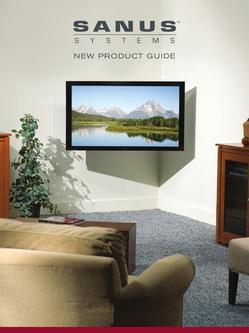 Sanus New Product Guide