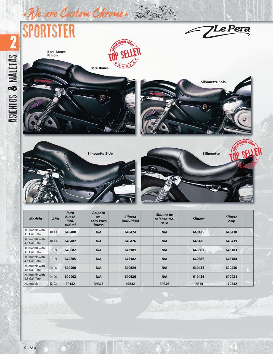 Customacces AZ1118N Protector de Faro Modelo MAX Harley Davidson Sportster 883 Iron 09-19