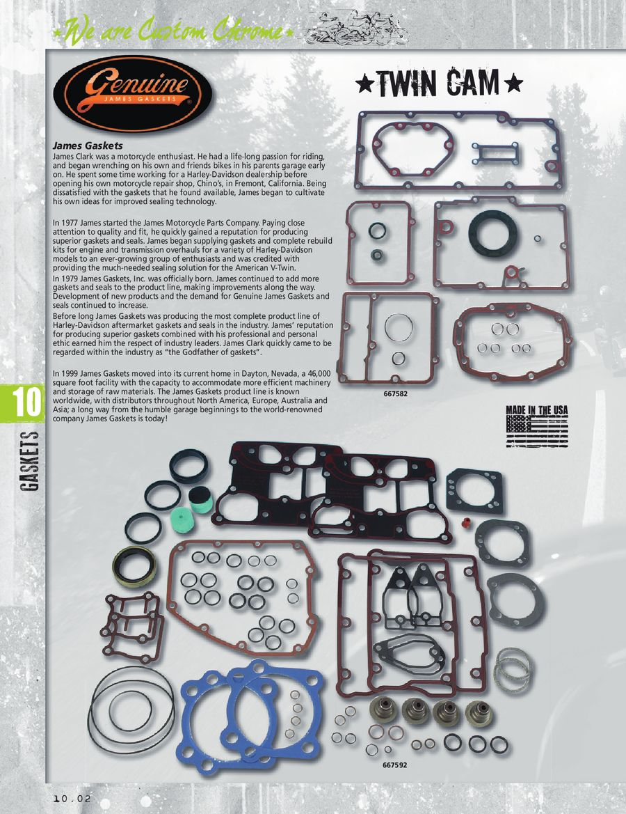 O-Ring Kit JGI-60538-81-K James Primary Gasket Seal
