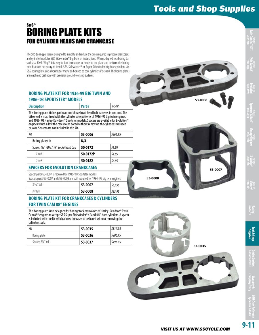Page 664 of High Performance Parts for American V-Twins 2013
