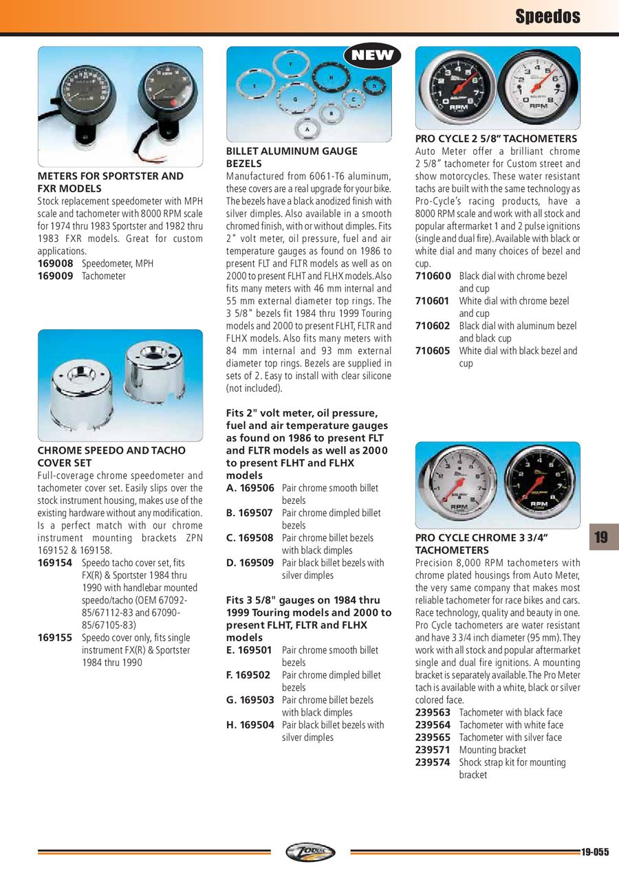 Page 55 of Tanks, Dashes,Tacho & Speedo Meters 2011