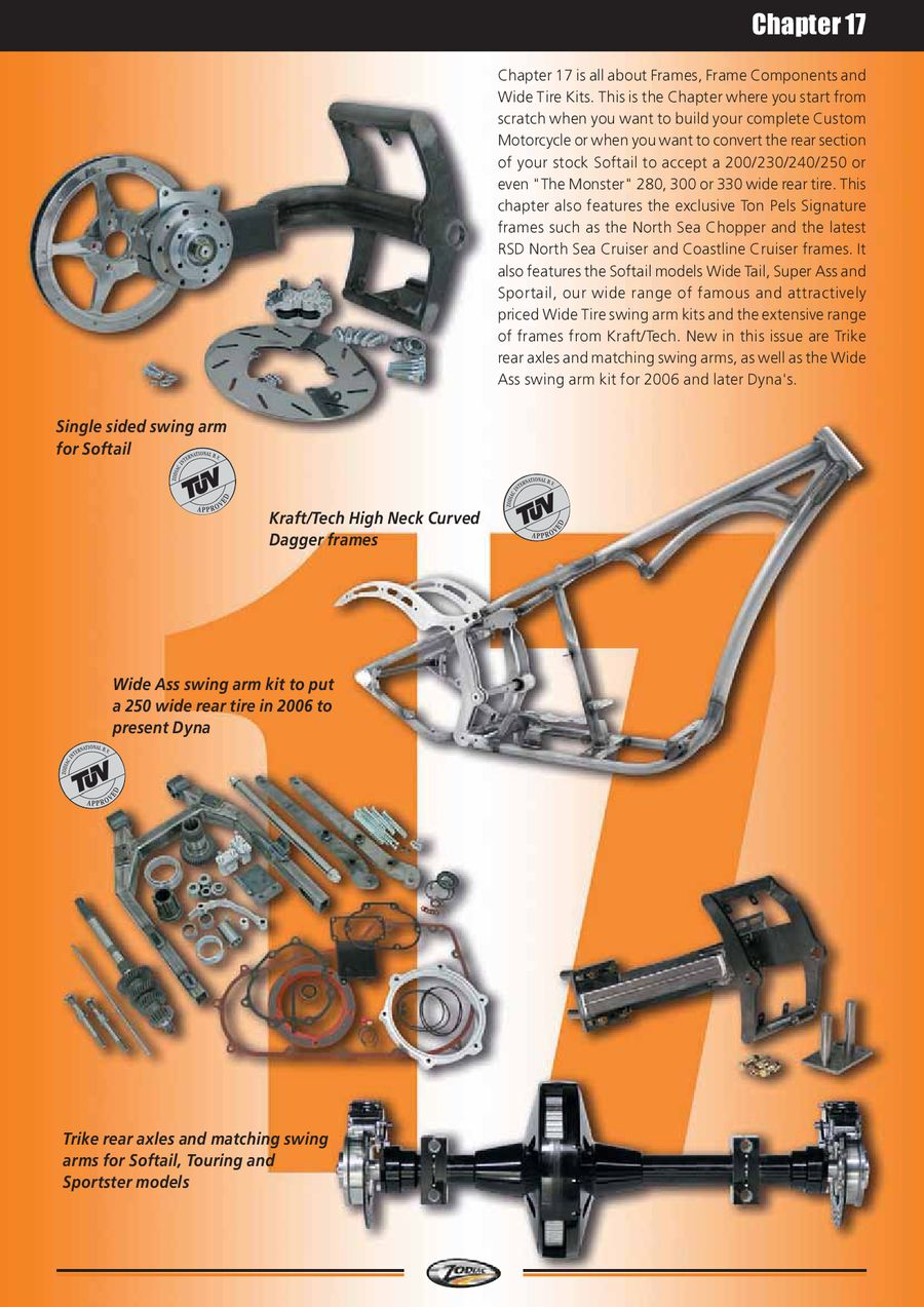 Frames, Frames Components, Shocks & Lowering Kits 2012 by Zodiac