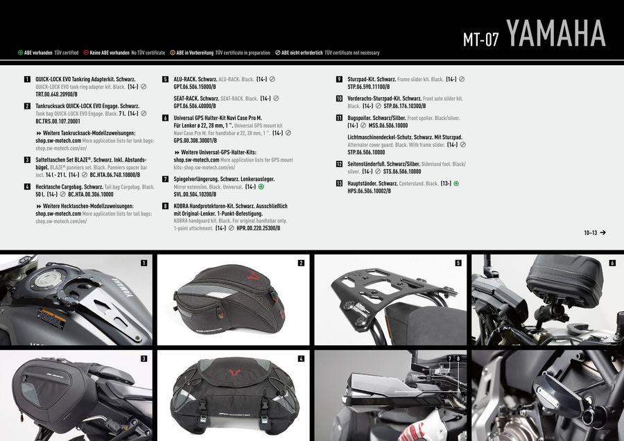 E-BIKERS.IT//DID Kit transmission cha/îne couronne pignon compatible Yamaha MT07 MT-07 2016 2017 2018 2019 2020