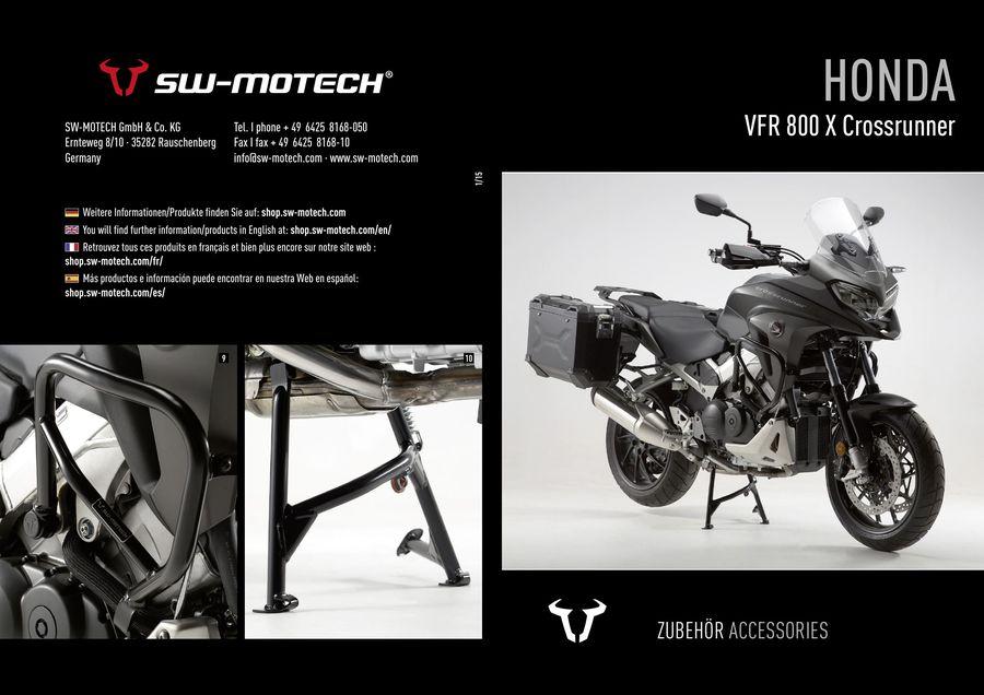 2016 Honda Crossrunner Accessories By SW MOTECH